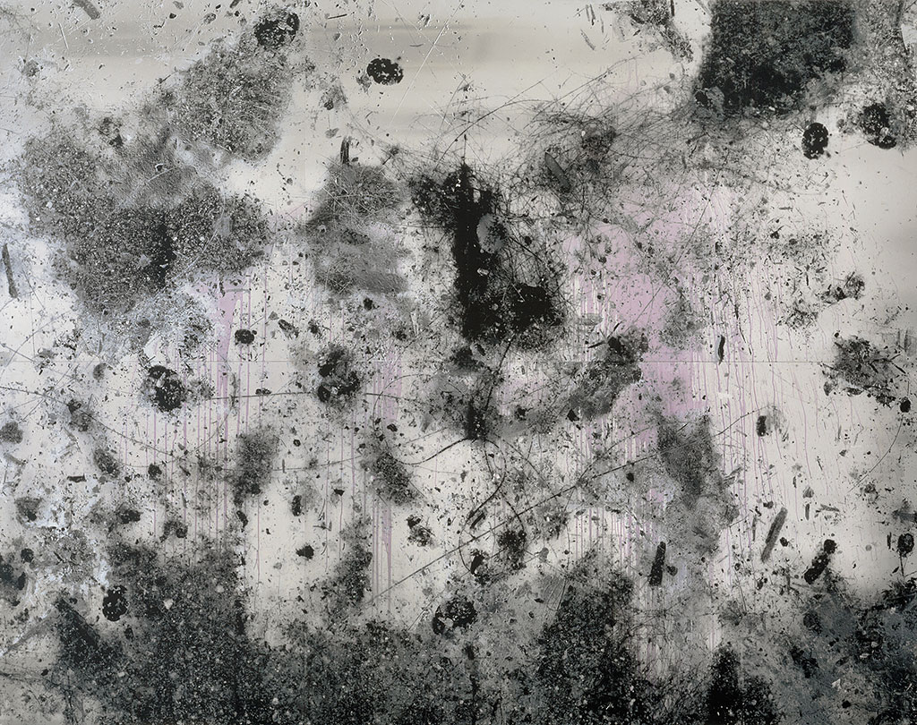 URS FISCHER, Untitled, 2007, Aluminum panel, transparent primer, vinyl paint, pigments, silicone, screws, 10 8 x 138 1/8 in. (274 x 350.8 cm) Private collection