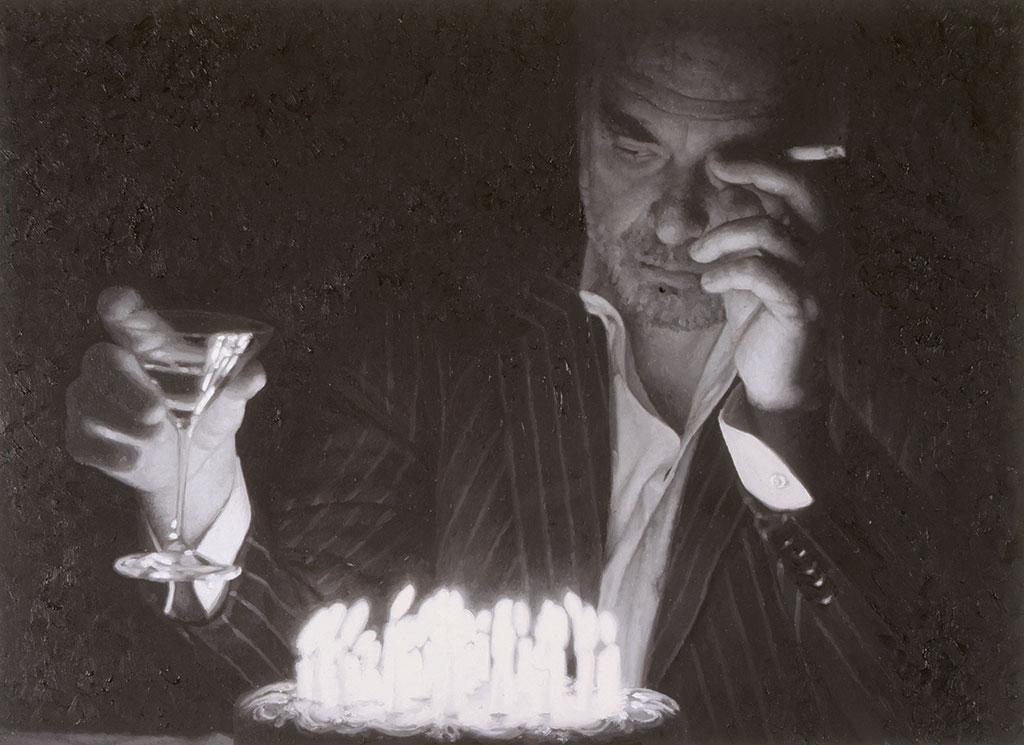Rudolf Stingel, Untitled (Birthday), 2006