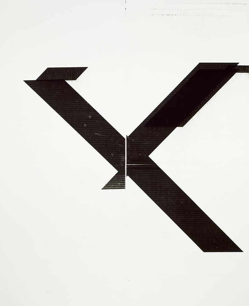 Wade Guyton, Untitled, 2007, Epson UltraChrome on linen, 84 x 69 in. (213.4 x 175.3 cm), Courtesy of the Artist